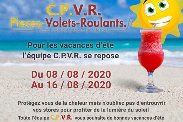 Vacances d'été 2020 pour C.P.V.R.
